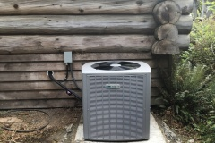 Armstrong Air variable speed 20 seer 9.5 HSPF heat pump installed