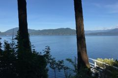 Beautiful views of Howe Sound from the property.